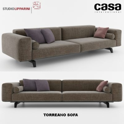 Casa International Torreano Sofa 3D Model