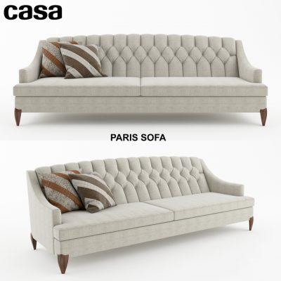 Casa Paris Sofa 3D Model