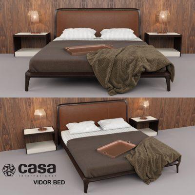 Casa Vidor Bed 3D Model