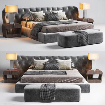 Casamilano Bedroom Set-2 3D Model