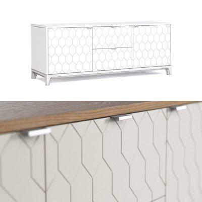 Case Tv Sideboard Set 3D Model