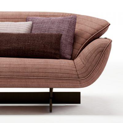 Cassina 550-30 Sofa 3D Model