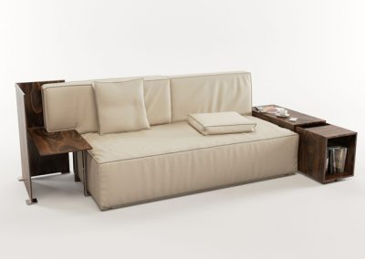 Cassina My World Sofa 3D Model 3