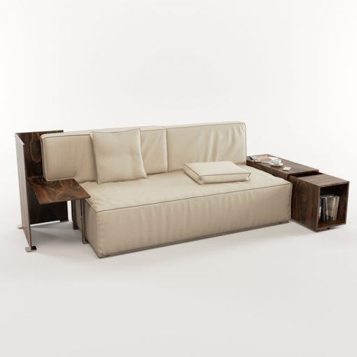 Cassina My World Sofa 3D Model 3