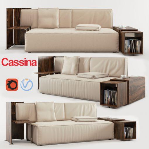 Cassina My World Sofa 3D Model