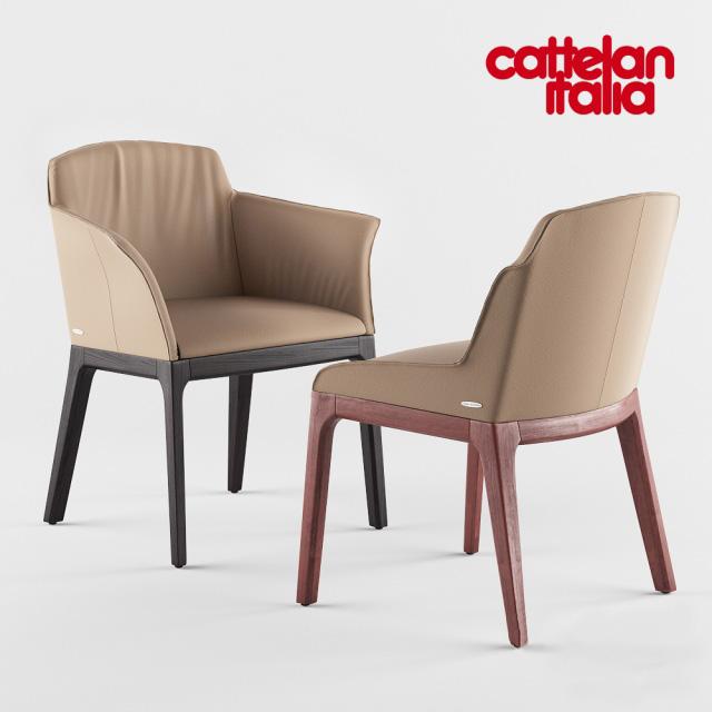 Cattelan Italia Musa Armchair 3D Model