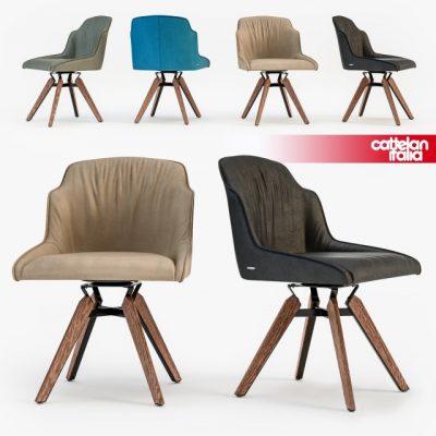 Cattelan Italia Tyler Chair 3D Model