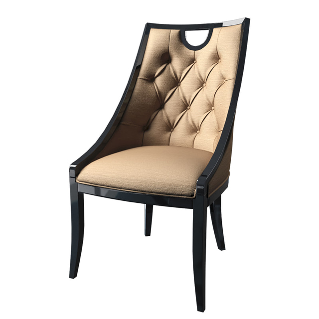 Cavio ArtDeco Line Chair 3D Model