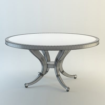 Center of Attention Table 3D Model
