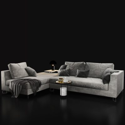 Molteni Sofa 3D Model