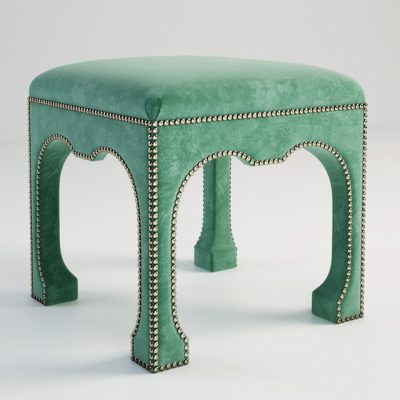 Century Furniture Chow Ottoman 3D Model