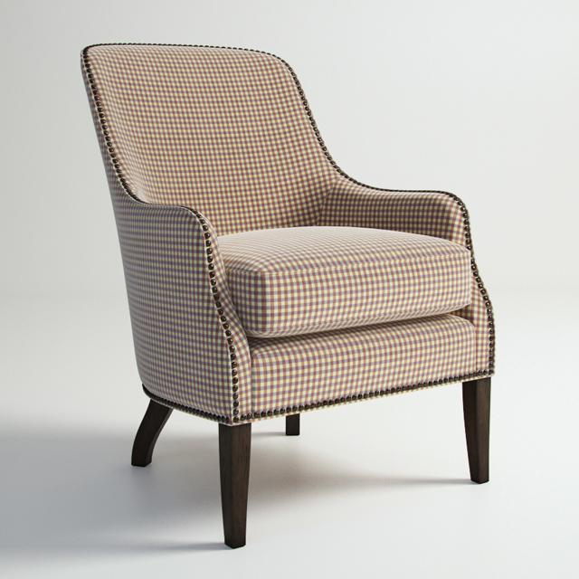 Century Furniture Vale 11-759 Chair 3D Model