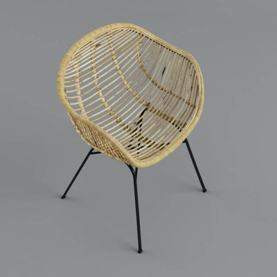 Chair Outdoor Furniture 3D model 2