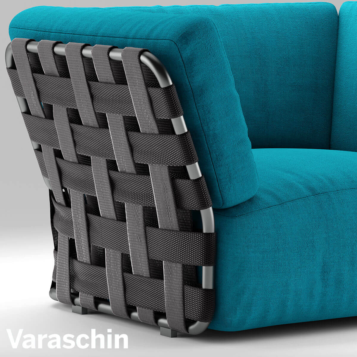 Chair Varaschin Victor Sofa 3D Model Outdoor Furniture 5