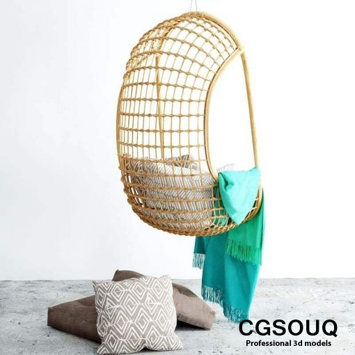 Chair hanging 3d model (8)