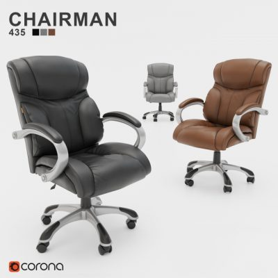 Chairman 435 – Office Furniture 3D Model