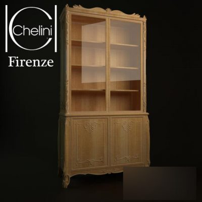 Chelini Firenze Display Cabinet 3D Model