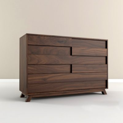 Chest of Drawers Set-01 3D Model