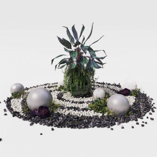 Choose your planet plant 3d model