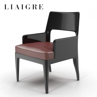 Christian Liaigre Musc Armchair 3D Model