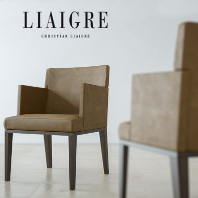 Christian Liaigre-Toribio Chair 3D Model