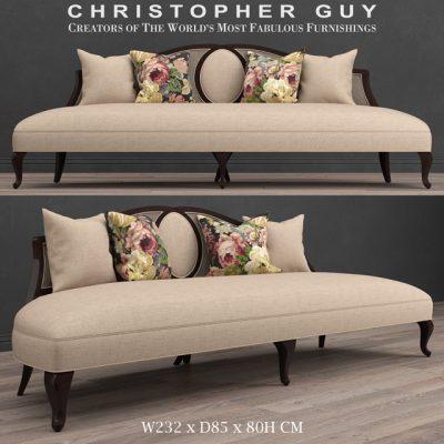 Christoper Guy Feraud Sofa 3D Model