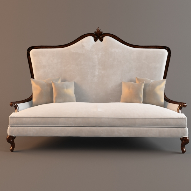 Christopher Guy 3 Seat Sofa 3D Model