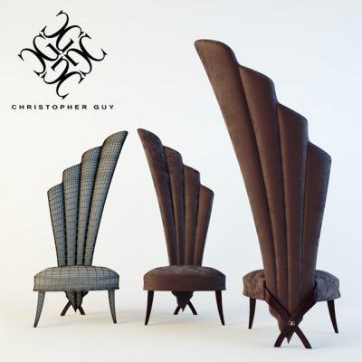 Christopher Guy 60-0232 Chair 3D Model