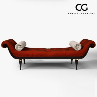 Christopher Guy 60-0249 Corella Chaise 3D Model