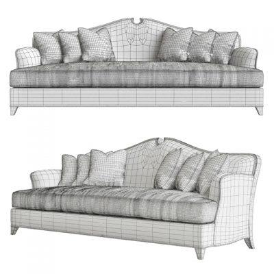 Christopher Guy Arch 60-0472 Sofa 3D Model