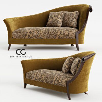 Christopher Guy Chandon Droite 60-0247 Sofa 3D Model