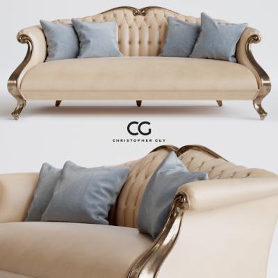 Christopher Guy Grand CRU Sofa 3D Model