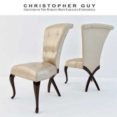 Christopher Guy Isabela Chair 3D Model