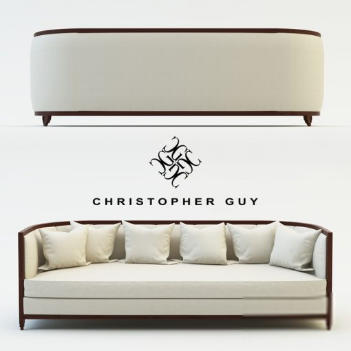 Christopher Guy Minerva Sofa 3D Model