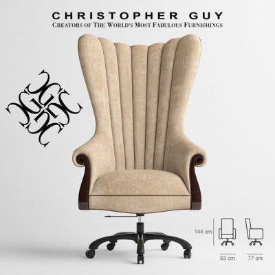 Christopher Guy – Presidente Chair 3D Model