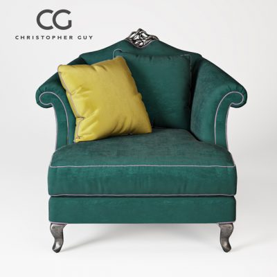 Christopher Guy Valentina 60-0045 Armchair 3D Model