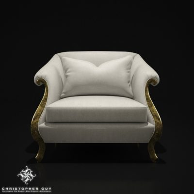 Christopher Guy Vernier Armchair 3D Model