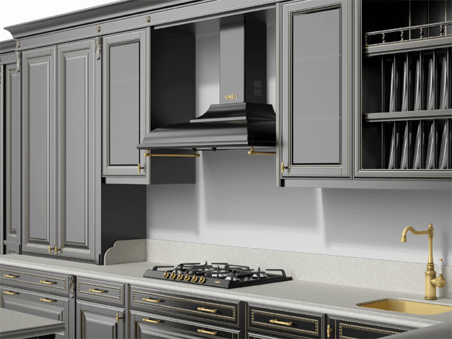 Classic Kitchen Free 3D model for Download | CGSouq com