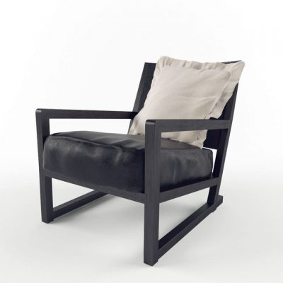 Clio Armchair 3D Model