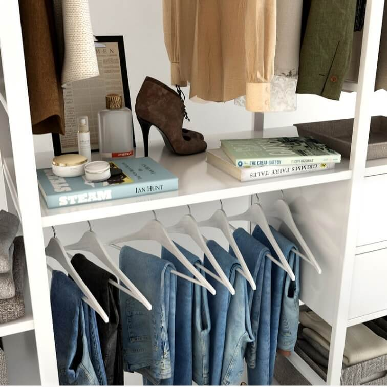 Cloth Ladies Wardrobe 3D Model 11