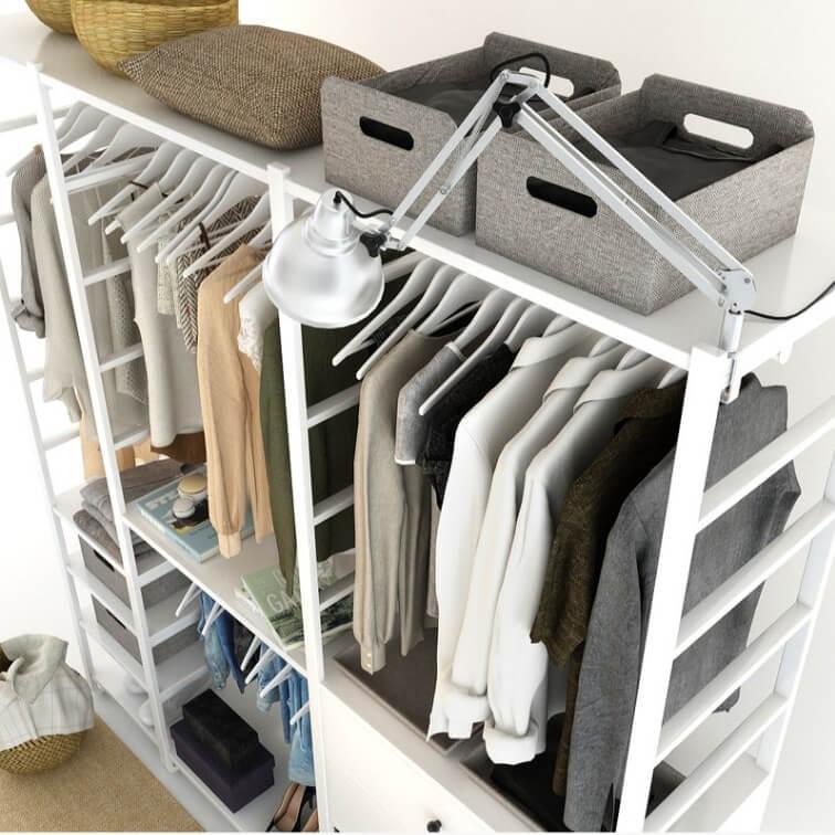 Cloth Ladies Wardrobe 3D Model 12