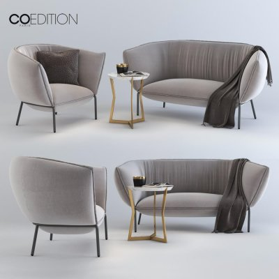 Coedition Paris You Sofa 3D model 2