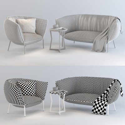 Coedition Paris You Sofa 3D model 3