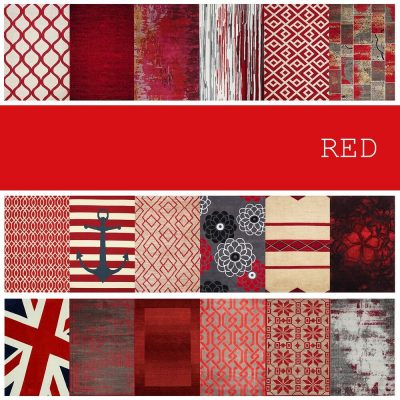 Collection of Red Rugs Textures