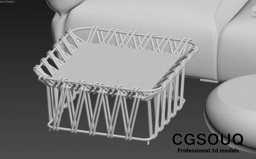 Collection of outdoor furniture 3d model (4)