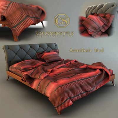 Colombostile Annibale Bed 3D Model
