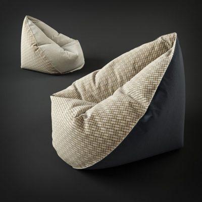 Comfy Bean Bag 3D Model