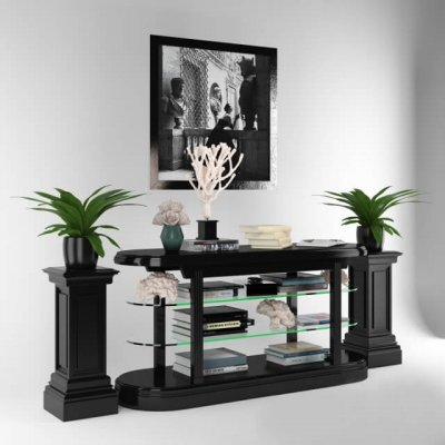 Console Table Pierce 3D model