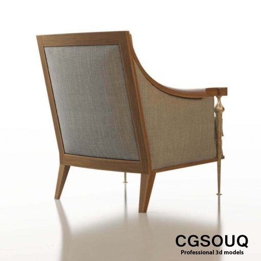 Contemporary Chair Pack - Set III 3D model 2