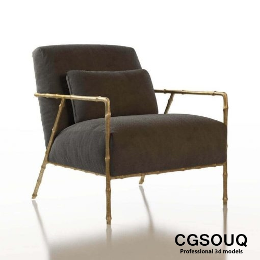 Contemporary Chair Pack - Set III 3D model 5